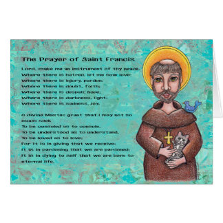 St. Francis of Assisi Notecard Note Card