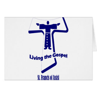 St Francis of Assisi Quote Greeting Card