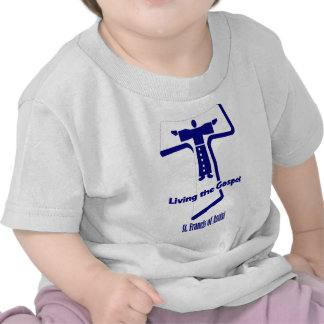 St Francis of Assisi Quote Tees