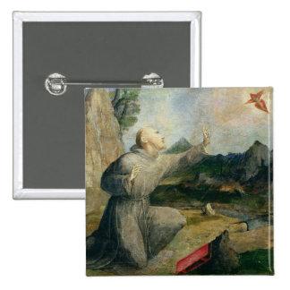 St. Francis of Assisi Receiving the Stigmata Pins
