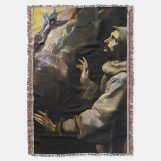 St Francis of Assisi - San Francisco de Asis 01 Throw Blanket