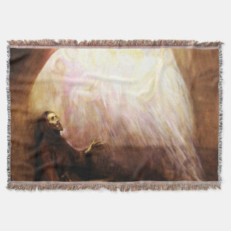 St Francis of Assisi - San Francisco de Asis 02 Throw Blanket