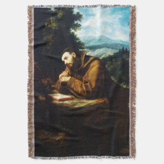 St Francis of Assisi - San Francisco de Asis 09 Throw Blanket