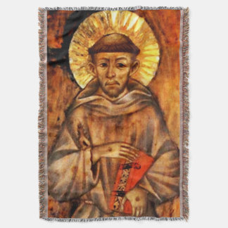 St Francis of Assisi - San Francisco de Asis 16 Throw Blanket