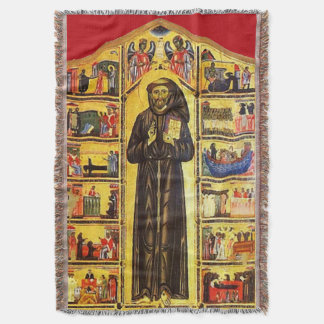 St Francis of Assisi - San Francisco de Asis 17 Throw Blanket