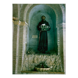 St Francis of Assisi shrine Poster