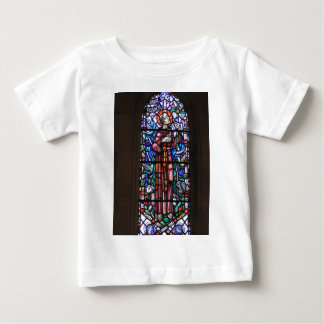 St Francis of Assisi stained glass Baby T-Shirt