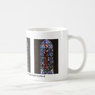 St Francis of Assisi stained glass Basic White Mug
