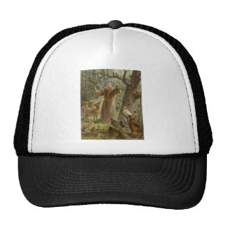 St. Francis of Assisi Surrounded by Animals Cap