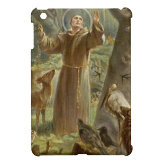 St. Francis of Assisi Surrounded by Animals Case For The iPad Mini