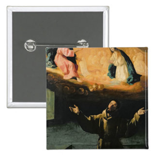 St Francis of Assisi The Miracle of the Roses Pins