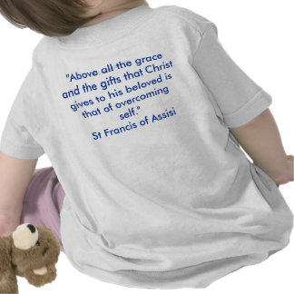 St Francis of Assisi Tee Shirt
