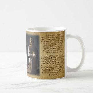 St Francis of Assisi's Prayer Coffee Mug