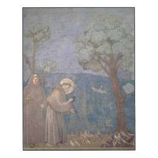 St. Francis Preaching to the Birds, 1297-99