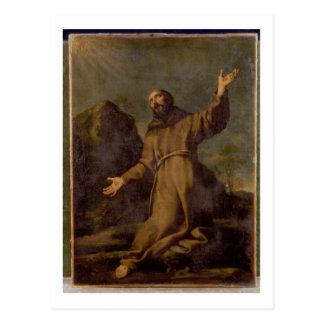 St. Francis Receiving the Stigmata Postcard
