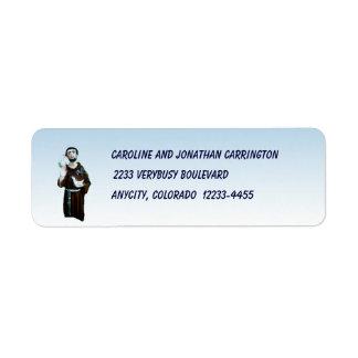 St. Francis Return Address Label