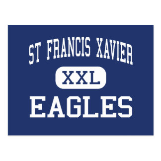 St Francis Xavier - Eagles - High - Sumter Postcard