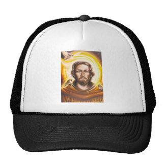 St. Franics Halo, hat, mug, pet tag, key chain etc