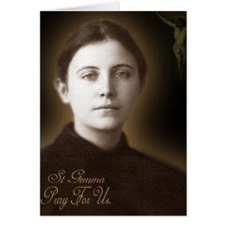 St Gemma Galgani, Card