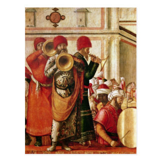 St. George Baptising the Gentiles Postcard