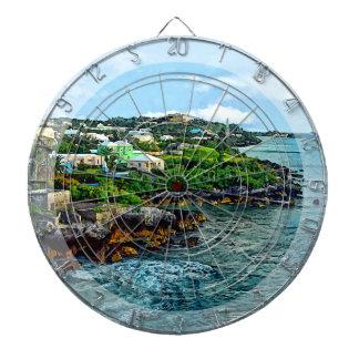 St. George Bermuda Shoreline Dart Board