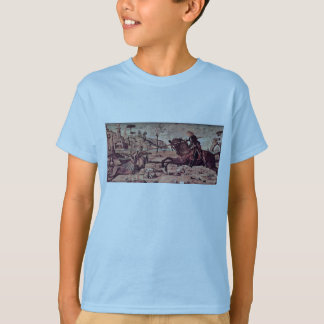 St. George Fighting The Dragon By Carpaccio Vittor T-Shirt