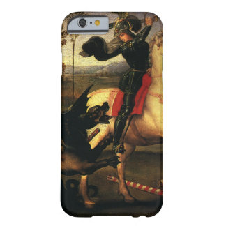 St. George Fighting the Dragon, Raphael, Raffaello Barely There iPhone 6 Case