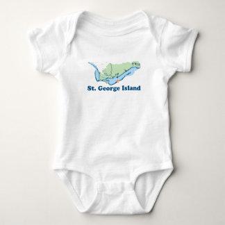 St George Island. Baby Bodysuit