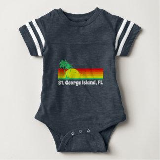 St. George Island Florida Baby Bodysuit