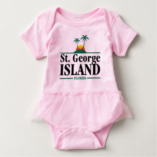 St George Island Florida Baby Bodysuit