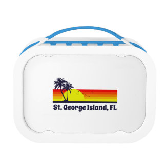 St. George Island Florida Lunch Box