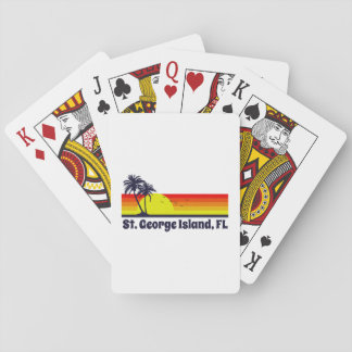 St. George Island Florida Playing Cards