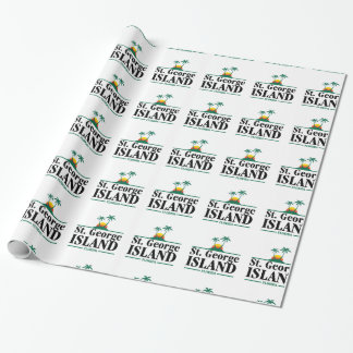 St George Island Florida Wrapping Paper