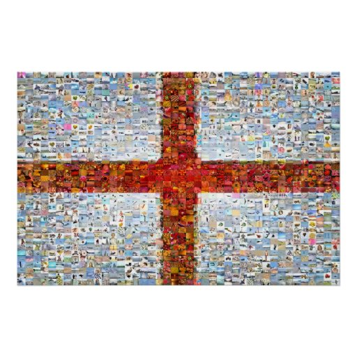St George Montage - Large Poster
