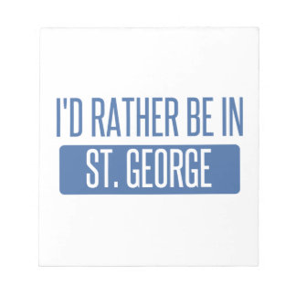 St. George Notepad