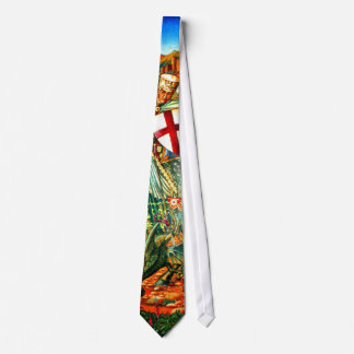 St. George Slaying the Dragon Tie