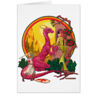 St. George & The Dragon Card