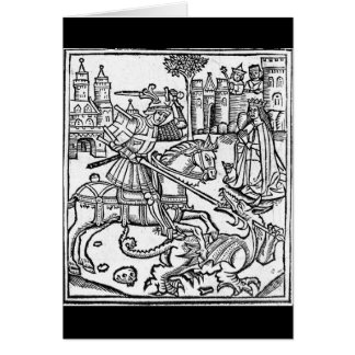 St George vs The Dragon Card