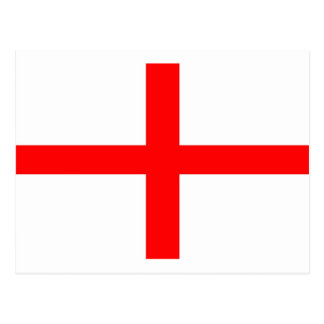 ST GEORGES FLAG - PLAIN POSTCARD