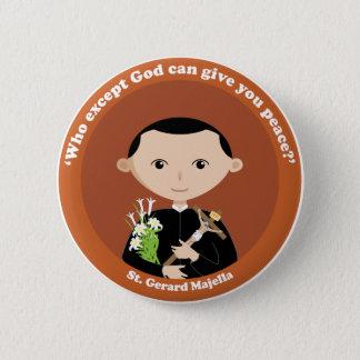 St. Gerard Majella 6 Cm Round Badge