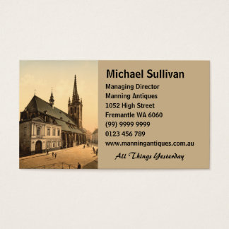 St Gertrude Church, Louvain, Belgium Business Card