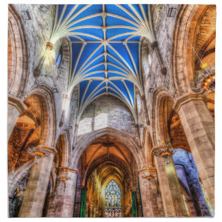 St Giles Cathedral Edinburgh Scotland Napkin
