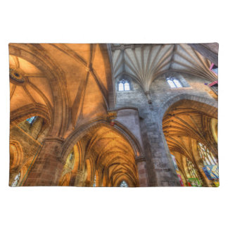 St Giles Cathedral Edinburgh Scotland Placemat