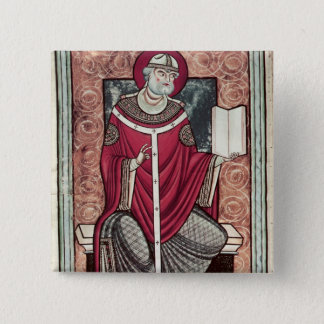 St. Gregory 15 Cm Square Badge