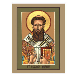 St. Gregory Palamas Prayer Card Postcard