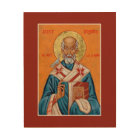 St. Gregory the Great Pope of Rome Icon Wood Print