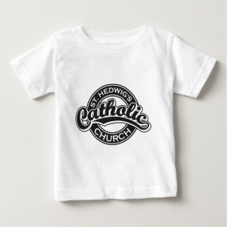 St. Hedwig's Catholic Church Black and White Baby T-Shirt