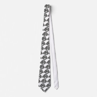 St. Hedwig's Catholic Church Black and White Tie
