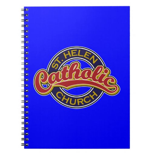 St. Helen Catholic Church Spiral Notebooks