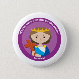St. Helena 6 Cm Round Badge